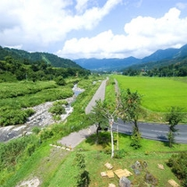 *周辺の田園風景
