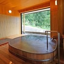*【浴場(おけ風呂)】