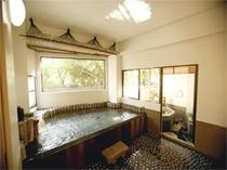 40 内風呂+八角露天付き 両方が入っている画像