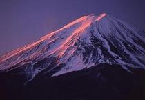 冬の紅富士