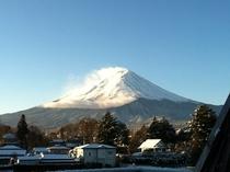 1月の富士山