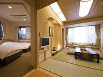 本館和洋室露天風呂付客室(401号室)