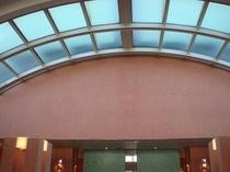 フロント ロビー天井
