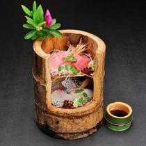 【一人旅特典!】竹の鮮魚盛り
