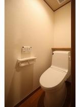 【リニューアル客室】バリアフリー洋式トイレ