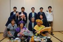 ご家族・親戚一同でお祝い☆ご長寿お祝いプランで記念撮影。