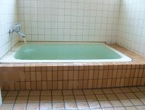 貸切風呂でのんびり、ゆったりと
