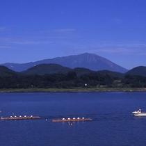 *【御所湖】美しいコラボレーション!御所湖からの岩手山(車で約7分)