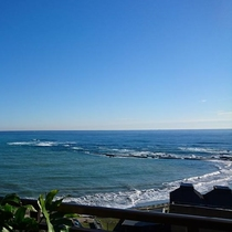 【千倉海岸】とてもきれいな弓型の砂浜