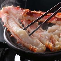 札幌中央市場から直送のタラバガニ ぷりっぷりで食べごたえ十分・・☆