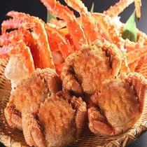 本タラバや毛ガニをたっぷり頂くならカニ版の豪華な少食☆札幌中央市場の目利き仲買人から直送されます♪
