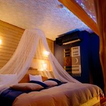 【新渚感☆海sea】ベッドルーム・煌めく海と共に過ごす至福の休日 手作り大型ベッドで癒されてください