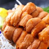 札幌中央市場直送☆北海道産の極上・生ウニがいつも提供できる宿です(*特別料理)