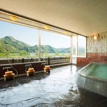 浴場からの絶景彡