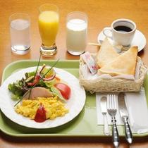 朝食:モーニング