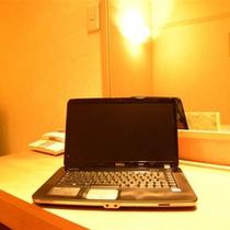 全客室インターネット光通信利用可能