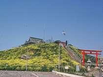 【八戸市】うみねこの蕪島神社(2015年の火災により復興中)