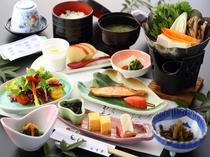 朝食は身体に優しい和食