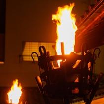 エントランス『かがり火』