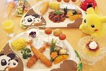 夕食例_キッズプレート