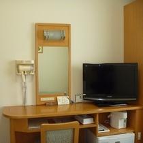 全室26型液晶テレビを完備!!BS放送も対応しています。