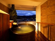 露天風呂付客室 和室タイプ 露天風呂