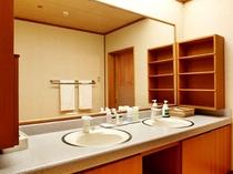 デラックス客室 和室15.5畳タイプ 洗面台