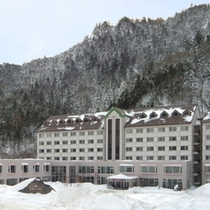 ■朝陽リゾートホテル(冬・昼)