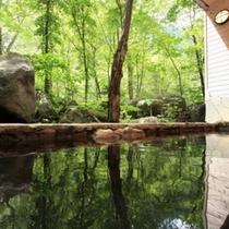 ■大自然の湯「川の囁き」 露天風呂
