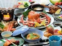 海鮮&カニ三昧グルメプラン 一例