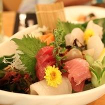 久米島近海魚のお造り