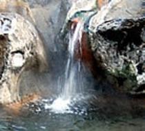 露天風呂湯滝