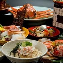 荒磯亭の蟹料理