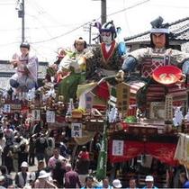 北陸3大祭り『三国祭』