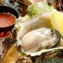 【食事】大粒な岩牡蠣