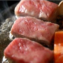 【食事】若狭牛のステーキ