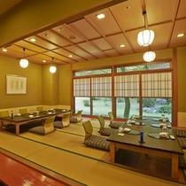 レストラン「花暦」個室