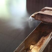 開湯800年の名湯「大湯温泉湧き出ずる温泉