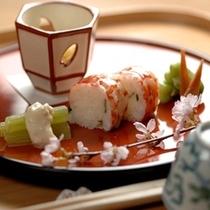 夕食 一例 ~春のイメージ~