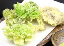 お料理 ~新鮮な山の幸~