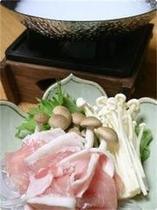 お料理 ~朝日豚のしゃぶしゃぶ~