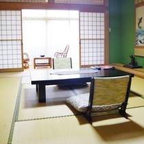 別館は全て2間続きのお部屋の作りとなっております。