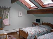 天窓の部屋