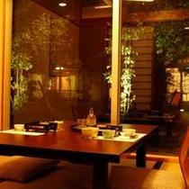 楽天茶寮(レストラン)夕食席