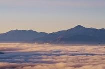 富士見台からの雲海