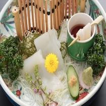 いか素麺(一品料理1000円税別)