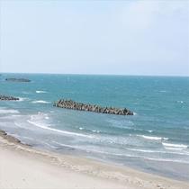 穏やかな日本海風景