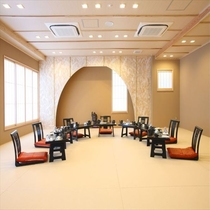 小グループには個室宴会場をご用意いたします!