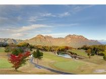 秋の妙義山