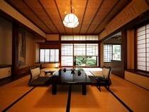 二間続きの和室(10帖+4.5帖) 112号室(秋桜)